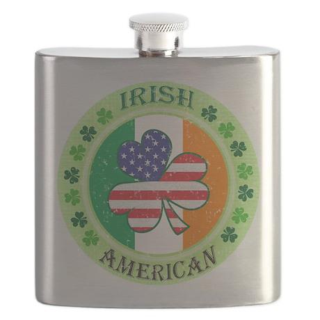 Irish American Flask