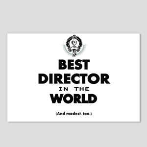 Best Director in the World Postcards (Package of 8