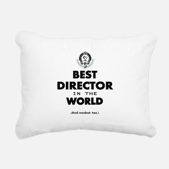 Best Director in the World Rectangular Canvas Pill