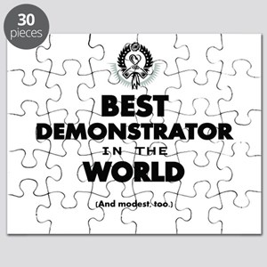 Best Demonstrator in the World Puzzle