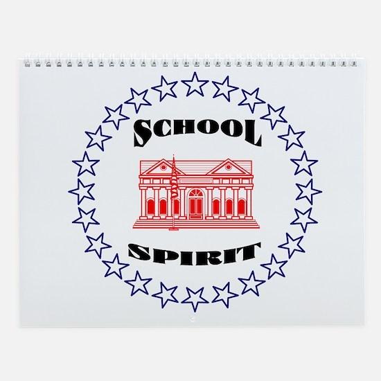 School Spirit Wall Calendar