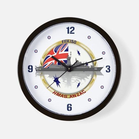 HMAS Anzac Wall Clock