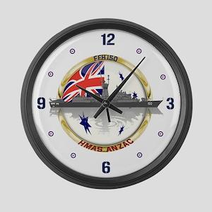 HMAS Anzac Large Wall Clock
