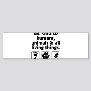 bekindto Bumper Sticker