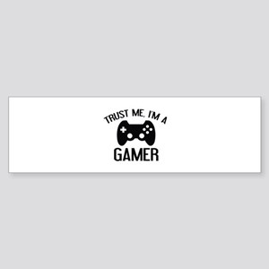 Trust Me, I'm A Gamer Sticker (Bumper)