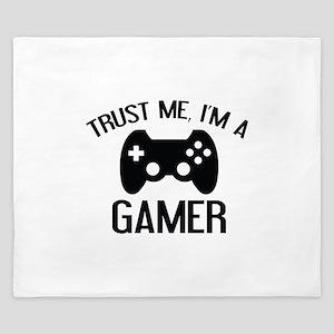 Trust Me, I'm A Gamer King Duvet