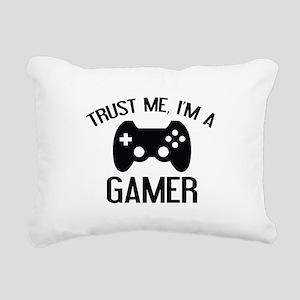Trust Me, I'm A Gamer Rectangular Canvas Pillow