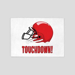 Touchdown! 5'x7'Area Rug