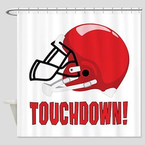 Touchdown! Shower Curtain