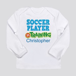 Future Soccer Player Personalized Long Sleeve T-Sh
