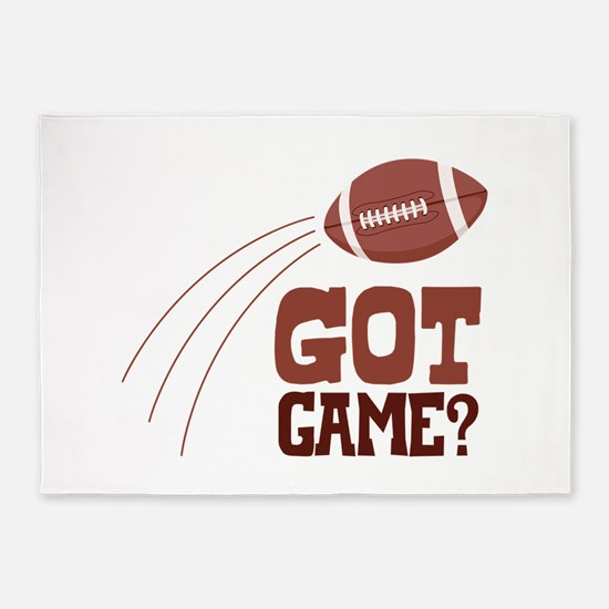 Got Game? 5'x7'Area Rug