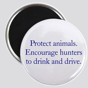 "Protect Animals 2.25"" Magnet (10 pack)"