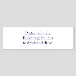 Protect Animals Bumper Sticker