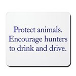Protect Animals Mousepad