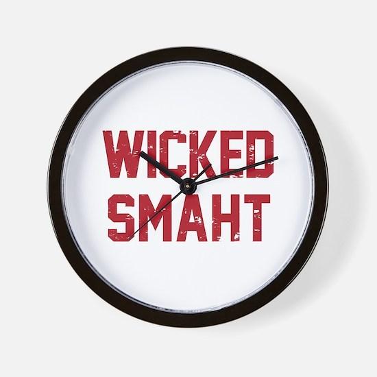 Wicked Smaht Wall Clock