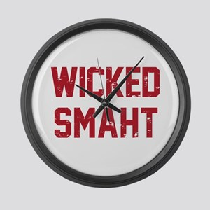 Wicked Smaht Large Wall Clock