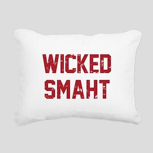 Wicked Smaht Rectangular Canvas Pillow
