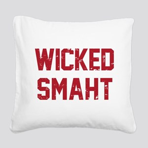 Wicked Smaht Square Canvas Pillow