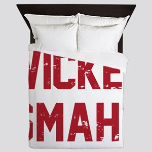 Wicked Smaht Queen Duvet