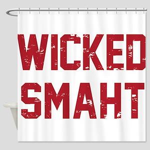 Wicked Smaht Shower Curtain