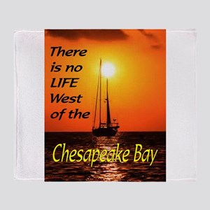 CHESAPEAKE BAY Throw Blanket