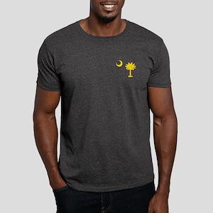 Palmetto and Crescent SC Dark T-Shirt