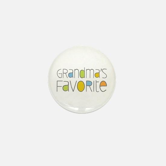 Grandmas Favorite Mini Button