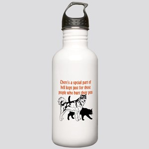 dont hurt pets Sports Water Bottle