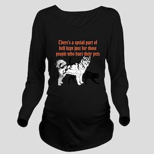 dont hurt pets Long Sleeve Maternity T-Shirt