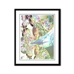 Wings of Angels Framed Panel Print