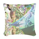 Wings of Angels Woven Throw Pillow