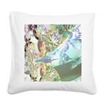 Wings of Angels - Amethyst Square Canvas Pillow