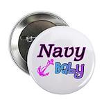 Navy Baby pink anchor 2.25