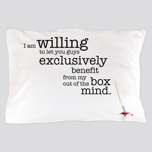 Out of the box mind Pillow Case