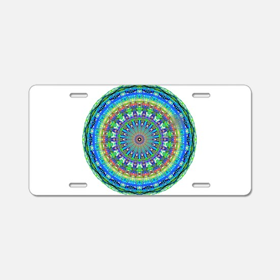 Mandala Magic 2 Aluminum License Plate