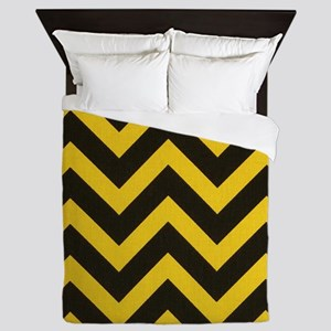 Steeler Chevron Queen Duvet