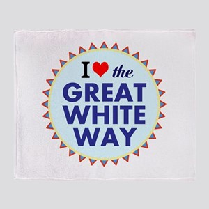 Great White Way Throw Blanket