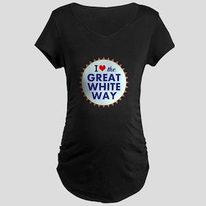 Great White Way Maternity T-Shirt