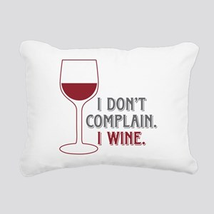 I Wine Rectangular Canvas Pillow