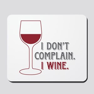 I Wine Mousepad