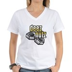 Deez Nutz Women's V-Neck T-Shirt