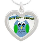 Owl beat cancer! Necklaces