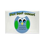 Owl beat cancer! Magnets