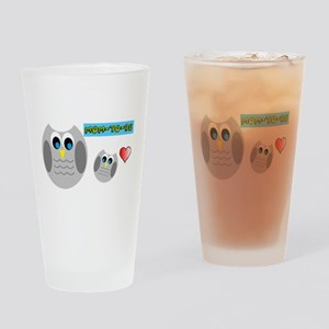 Mom-to-be Drinking Glass