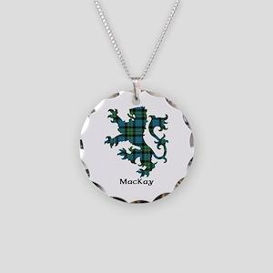 Lion - MacKay Necklace Circle Charm
