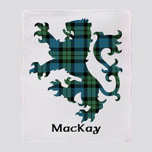 Lion - MacKay Throw Blanket