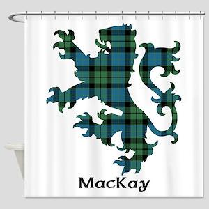 Lion - MacKay Shower Curtain