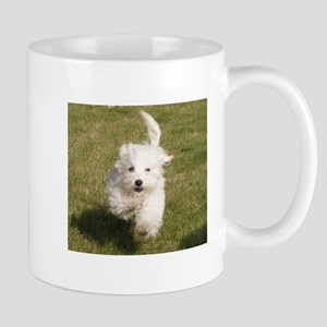 Run Bichon Run Mugs