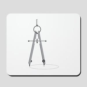 Drawing Compass Mousepad