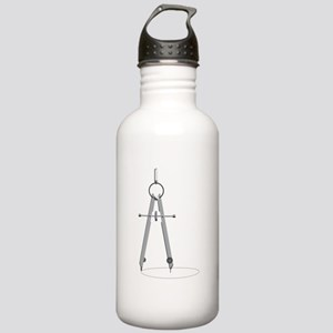 Drawing Compass Water Bottle